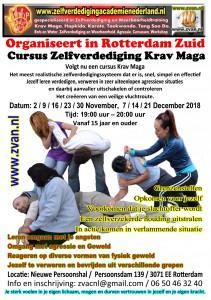 Cursus Krav Maga Flyer